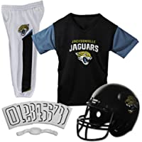 $32 » Franklin Sports Deluxe NFL-Style Youth Uniform – NFL Kids Helmet, Jersey, Pants, Chinstrap and…