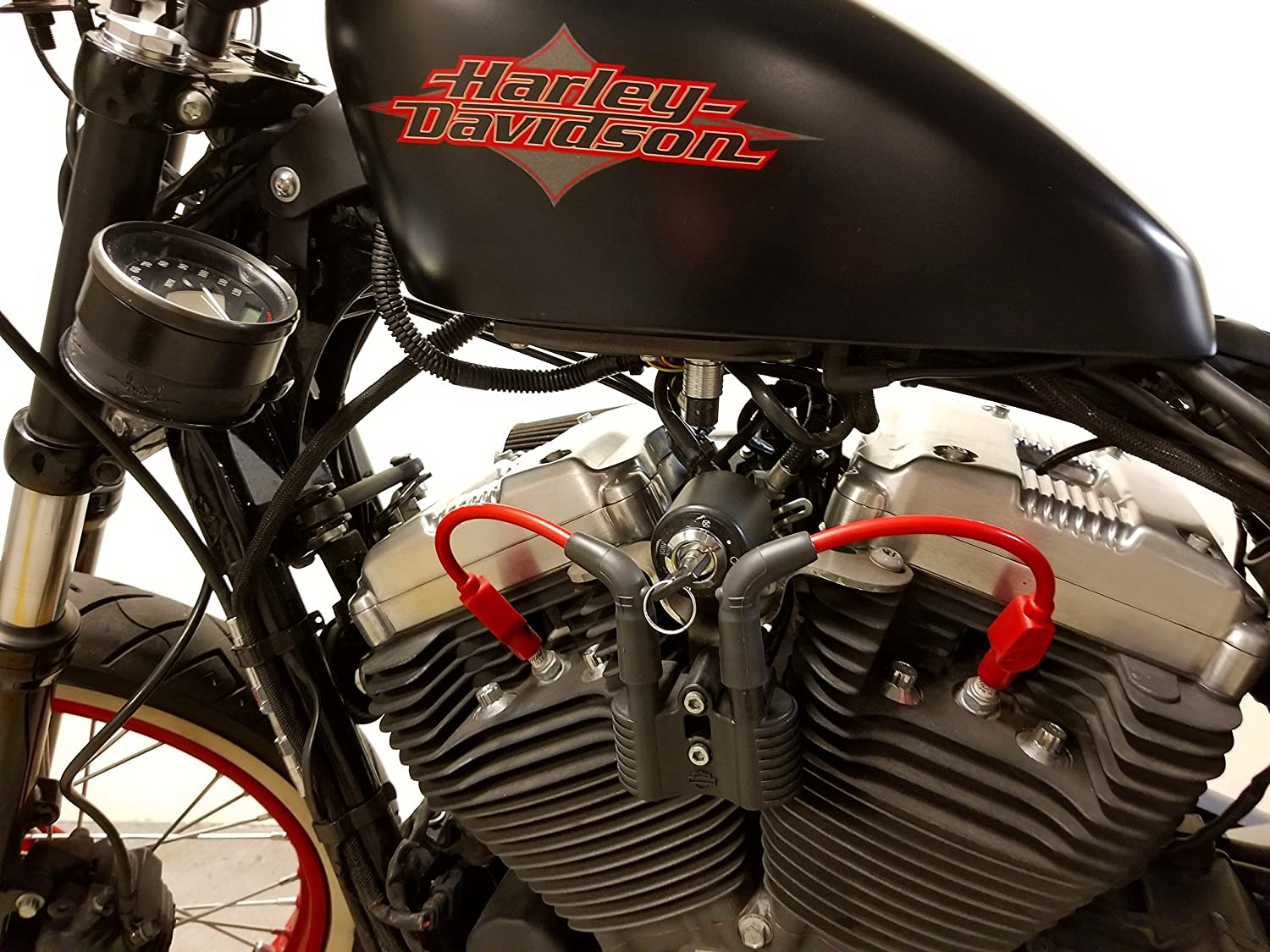 Points to Coil Wire Kit for Harley Knucklehead