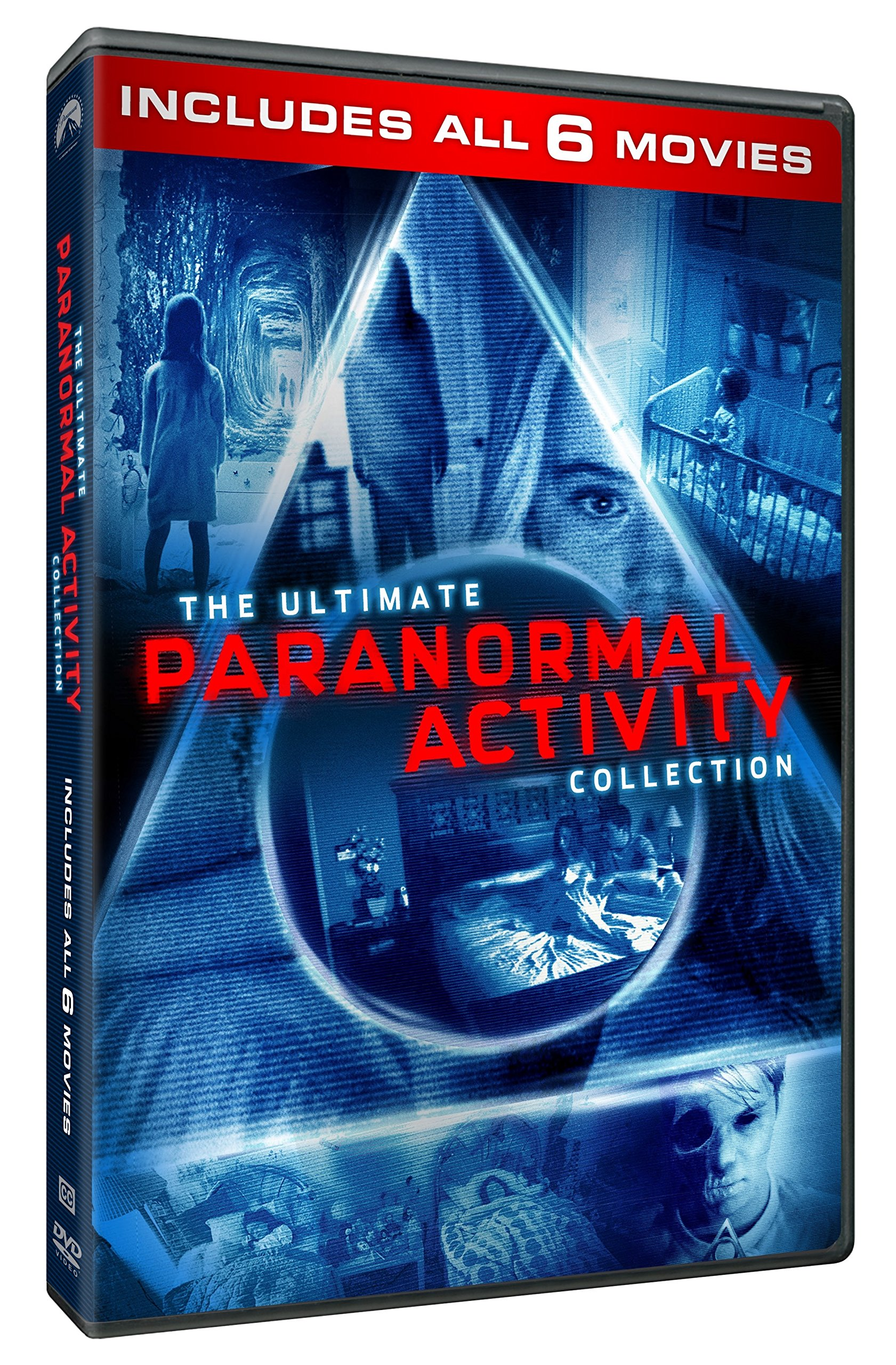 DVD : Paranormal Activity 6-movie Collection (Dolby, AC-3, Widescreen, 6 Disc)