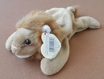 Image Unavailable. Image not available for. Color  TY Beanie Babies Roary  the Lion Plush Toy Stuffed Animal ... 0119089fc59d