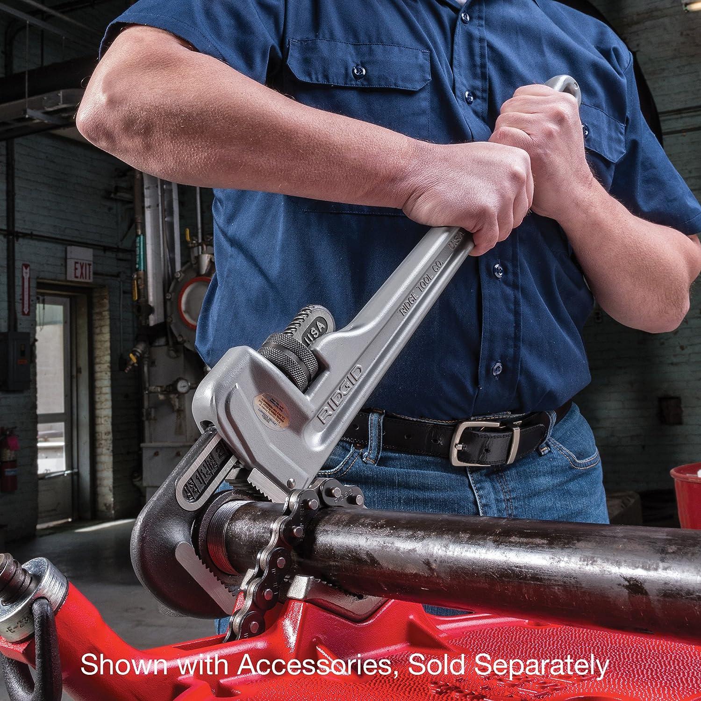 10 Sanit/är-Schraubenschl/üssel RIDGID 31090 Modell 810 gerade Aluminium-Rohrzange