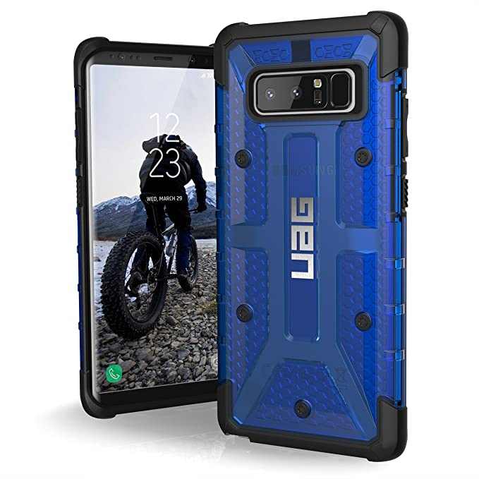 best loved 30818 1b6c0 UAG Samsung Note 8 Plasma Feather-Light Rugged [COBALT] Military Drop  Tested Phone Case