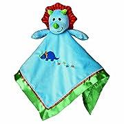 Mary Meyer Okey Dokey Baby Blanket, Dino, 17-Inches