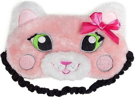 Soft Cute Hello Kitty Girl Women Soft Sleep Aid Mask Eye Shade Blindfold Cover