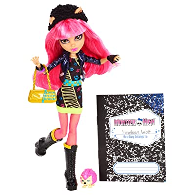 Monster High 13 Wishes Howleen Wolf: Toys & Games