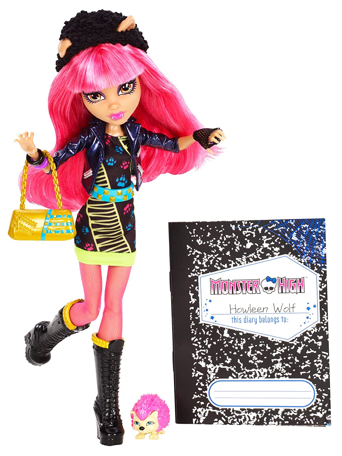 amazon com monster high 13 wishes howleen wolf toys u0026 games