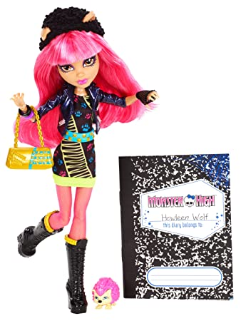Amazoncom Monster High 13 Wishes Howleen Wolf Toys  Games