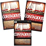 FULL SET - Becoming a Contagious Christian (Book + Study Guide + DVD) Zondervan 1996
