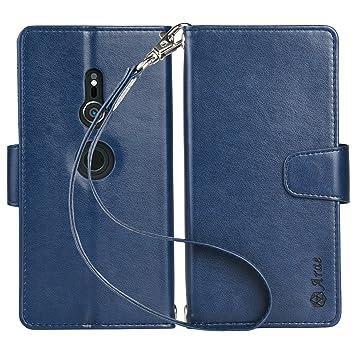 bff29c16ad Xperia XZ2 ケース 手帳型 SO-03K ケース 横置き機能 スマホケース Arae カードポケット