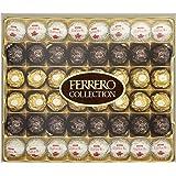 Ferrero Collection Assortiment Collection de Spécialités Prestigieuses de Rochers au Chocolat Noir/Chocolat à la Noisette/Noix de Coco 518 g