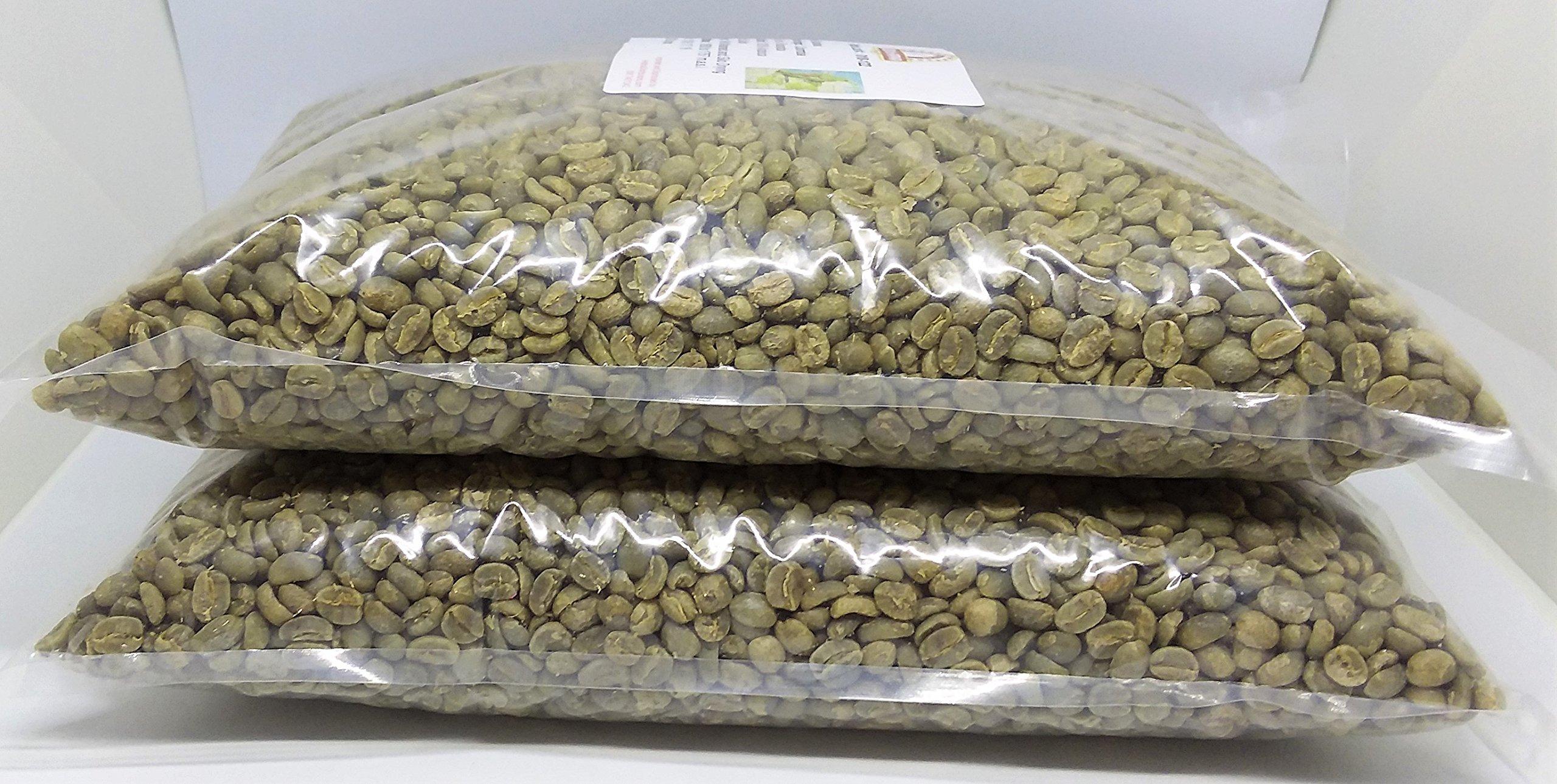 Green Coffee Beans Single Origin Colombian Unroasted Coffee Beans Farm Los Pirineos (10 Lb) by Micro Lot # 020-074