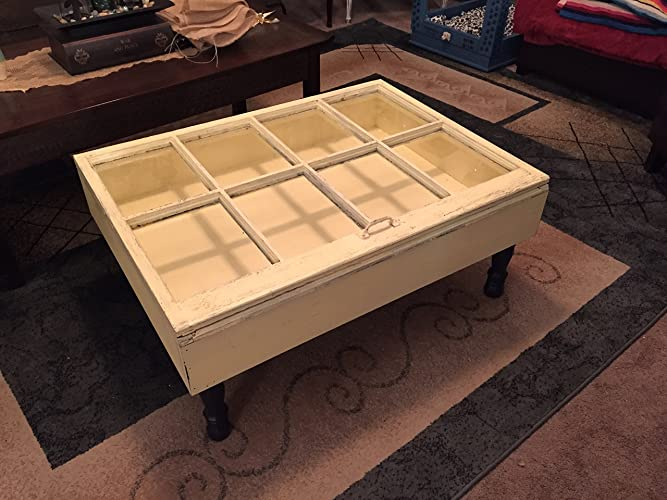 Wood Shadow Box Coffee Table