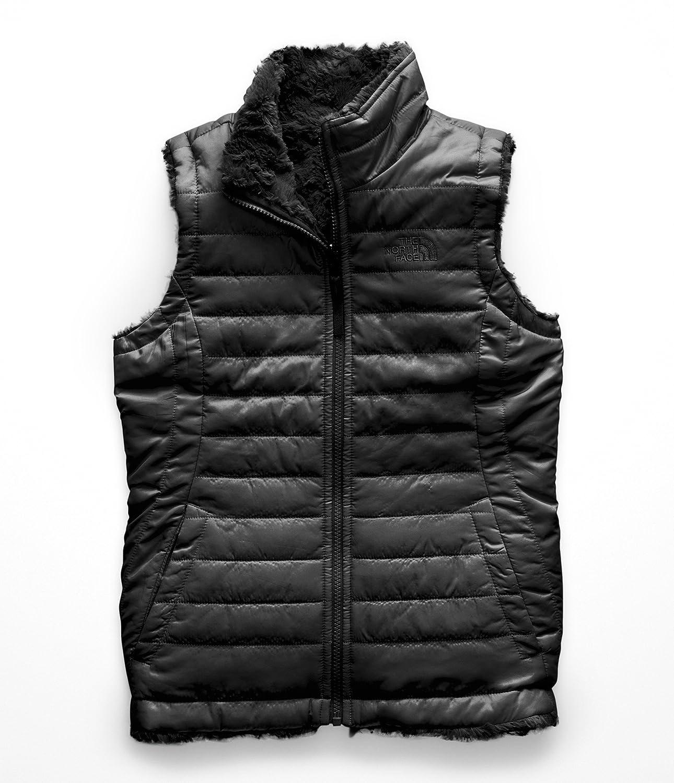 d19364277f9f Amazon.com  The North Face Girl s Reversible Mossbud Swirl Vest ...