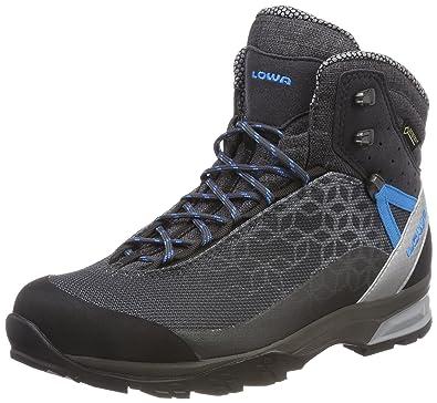LOWA Lyxa GTX MID Ws Trekkingschuhe,anthrazit/blau 37,0 (4,0)
