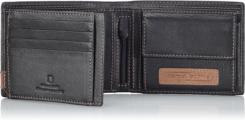 camel active California Wallet 12.5X2X9.5, Black