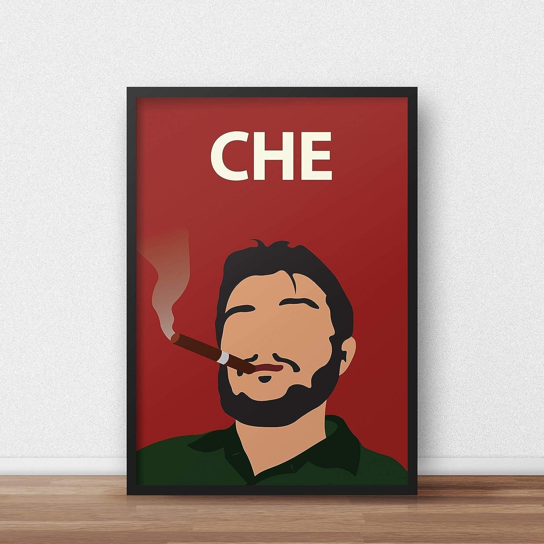 Che Guevara Poster // Print - Artwork - Stampa - Minimalista - Colorata - Ispiratrice - Motivazionale - Aula - Decorazioni - Arte