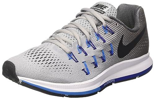 Nike - Zapatillas de running para hombre white/black-dark grey-wlf grey, color, talla 7