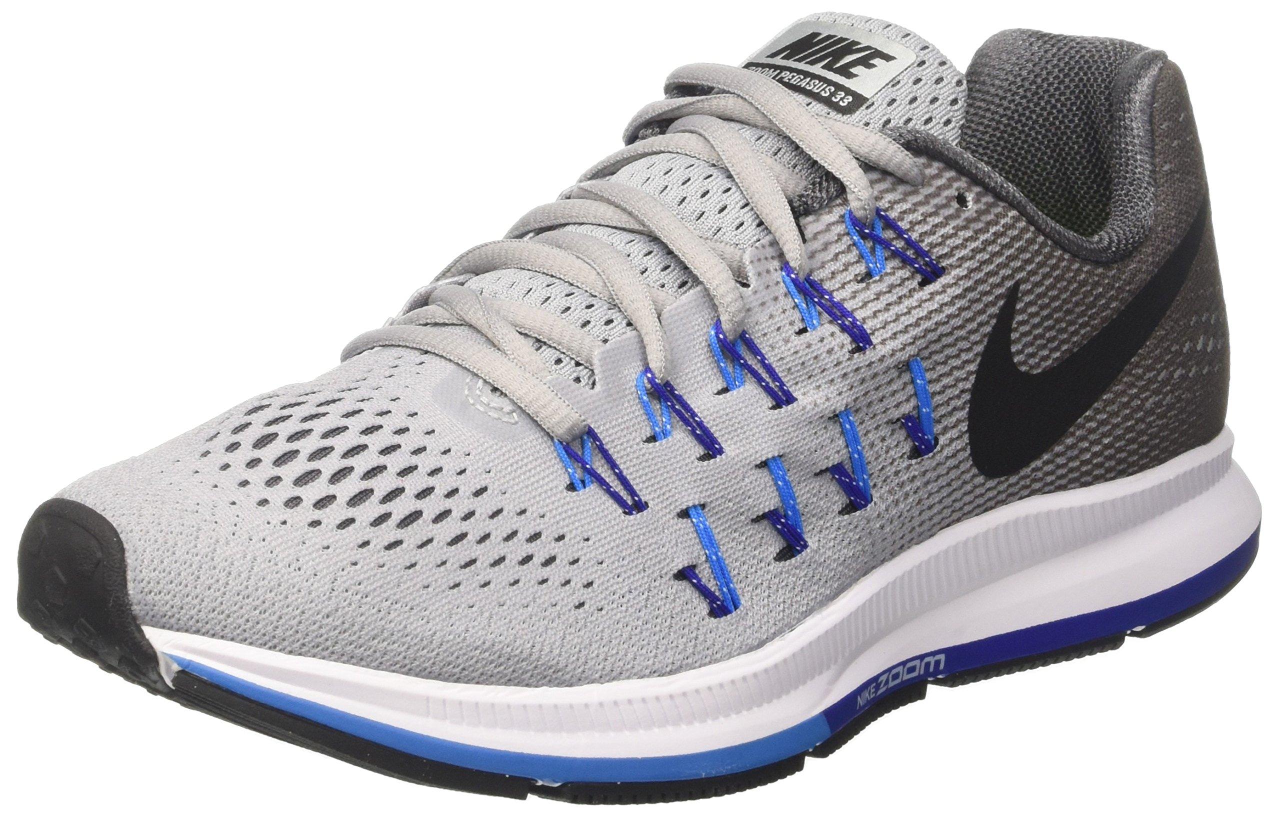 3c2205e2dc0 Galleon - Nike Men s Air Zoom Pegasus 33 Wolf Grey Black Dark Grey Running  Shoe 13 Men US