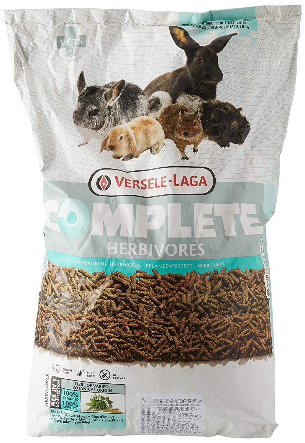 VERSELE LAGA Lapin Doublure Complete 8 kg, 1er Pack (1 x 8 kg) 461293