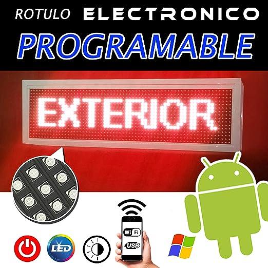 ⭐⭐⭐⭐⭐ Rótulo electrónico led Programable para