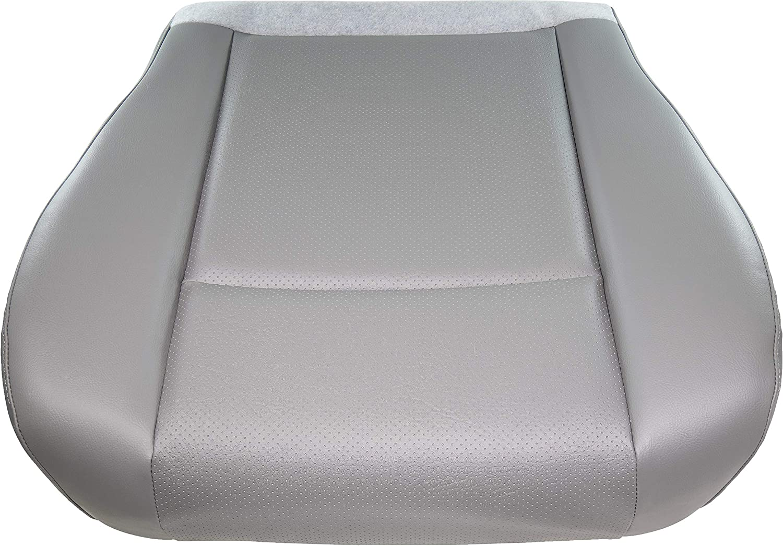 APDTY 141521 Seat Bottom Cushion Compatible With 2001-2018 Ford E150 E250 E350 E450 Econoline Van (Vinyl; Medium Flint aka Light Gray Color; Replaces 9C2Z-1562901-CA, BC2Z-1562901-CA, F7UZ1563100AA)