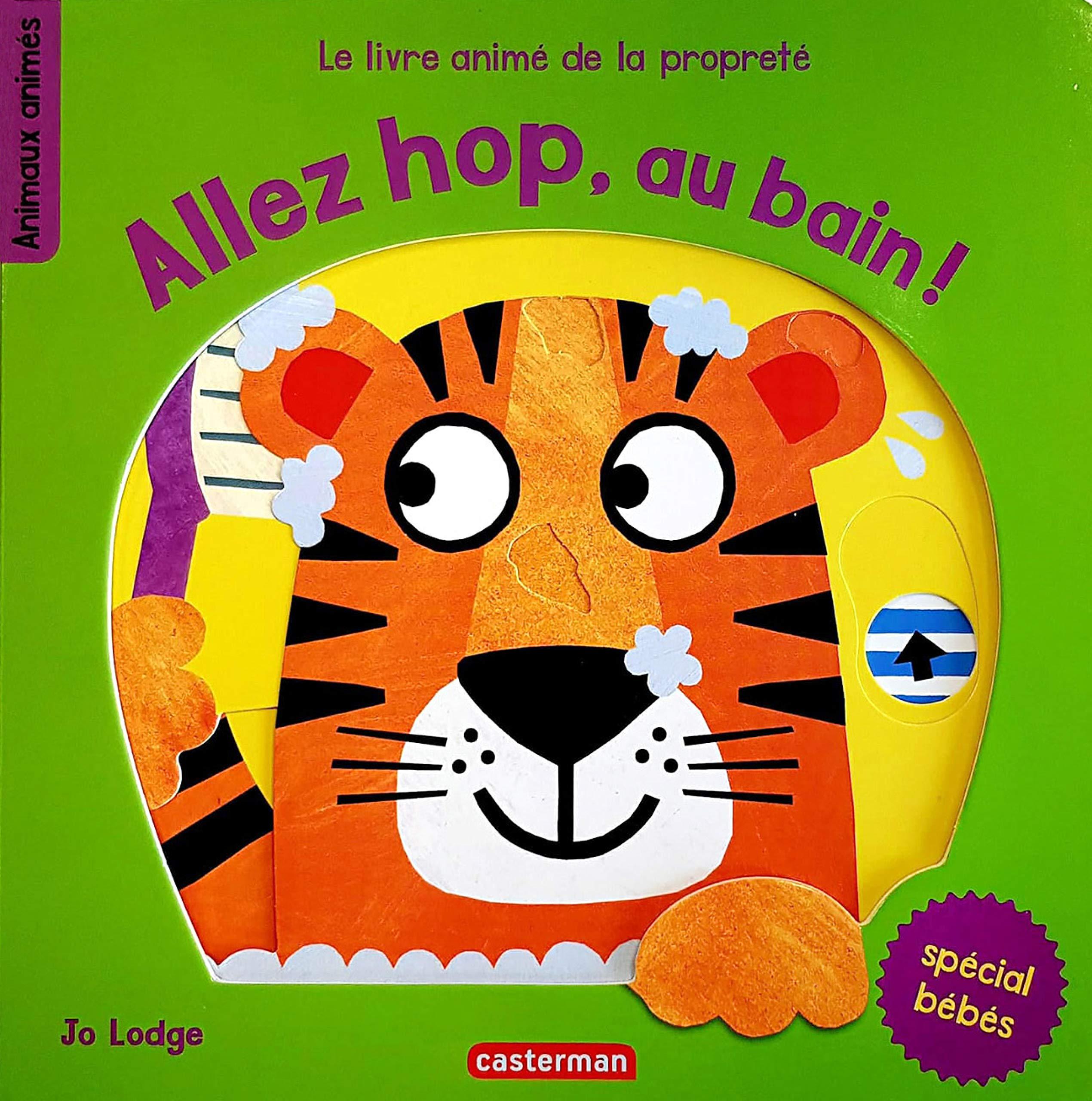 Allez Hop Au Bain Le Livre Anime De La Proprete Jo