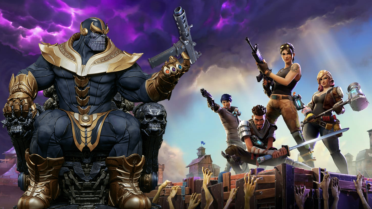 Fortnite Gets Avengers Infinity War Mode Featuring Thanos Gs News