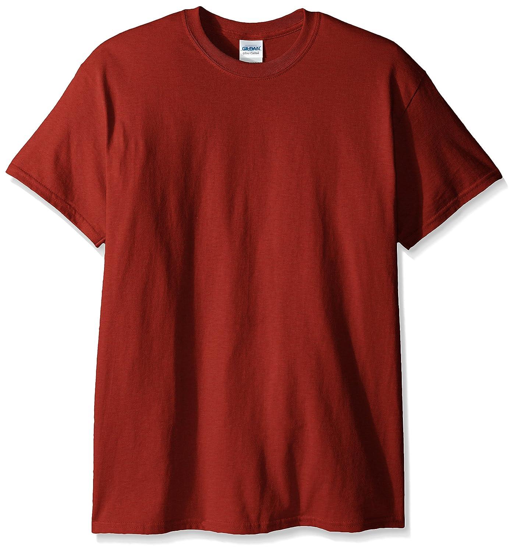 (ギルダン) Gildan メンズ ウルトラコットン クルーネック 半袖Tシャツ トップス 半袖カットソー 定番アイテム 男性用 B008LTGO9S L|Rusty Bronze Rusty Bronze L