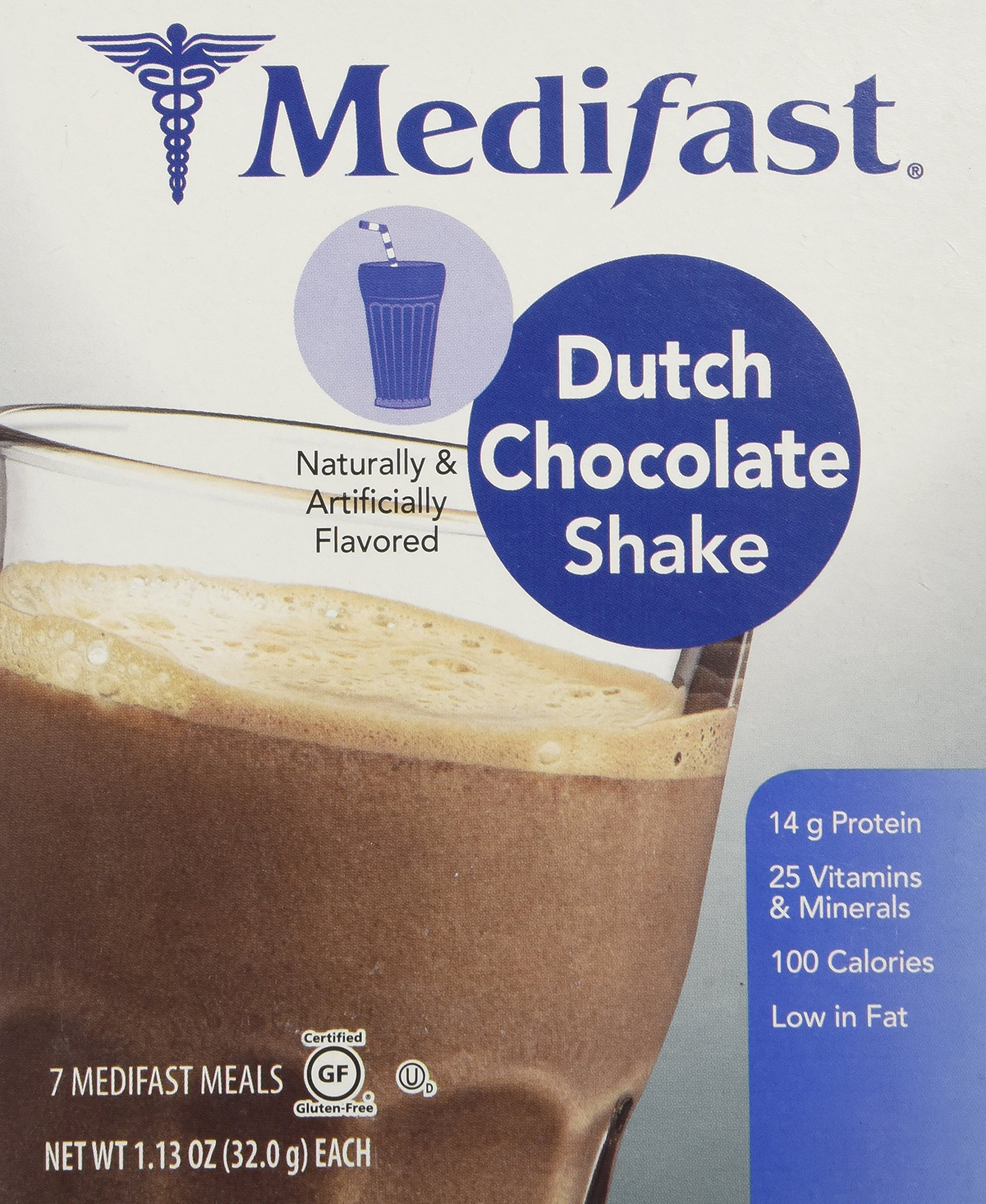 Medifast Dutch Chocolate Shake (1 Box = 7 Meals)