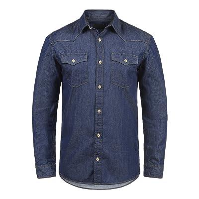 c0ce183d35 PRODUKT Paulus - Camisa de jeans para hombres  7TZYt1605007  - €22.04