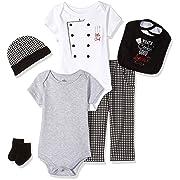 Little Treasure Unisex Baby Clothing Set, What's Cookin'? 6-Piece Set, 3-6 Months (6M)