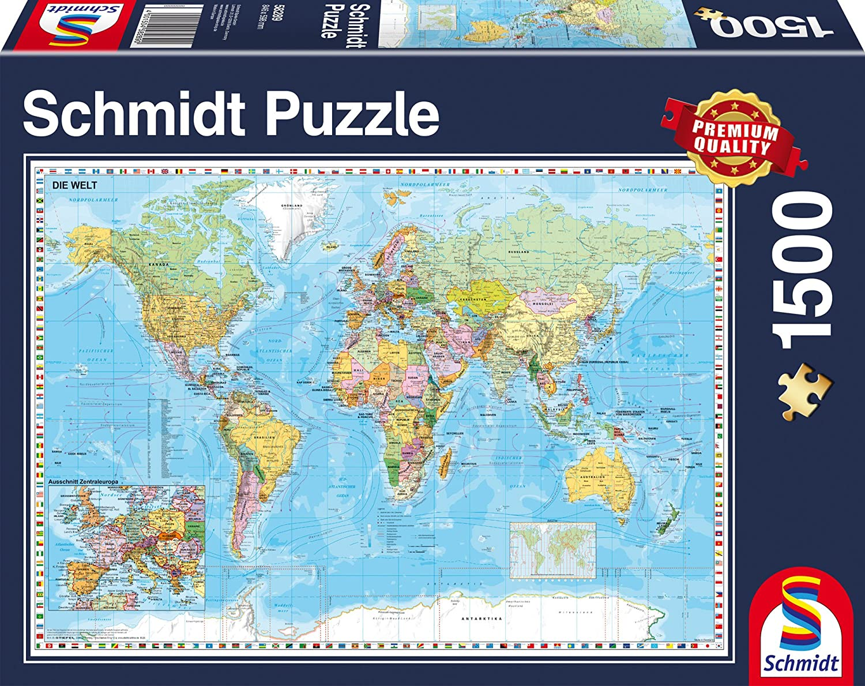 Schmidt spiele 58289 the world jigsaw puzzle 1500 piece jigsaw schmidt spiele 58289 the world jigsaw puzzle 1500 piece jigsaw puzzle amazon toys games gumiabroncs Choice Image