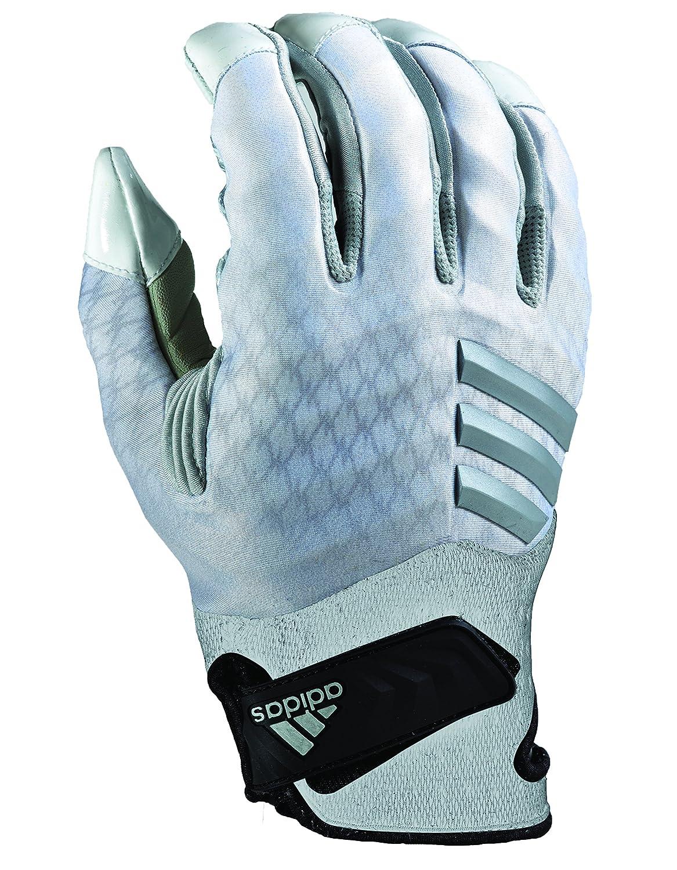 ADIDAS nastyquick Fußball Handschuhe, Weiß Silber, groß