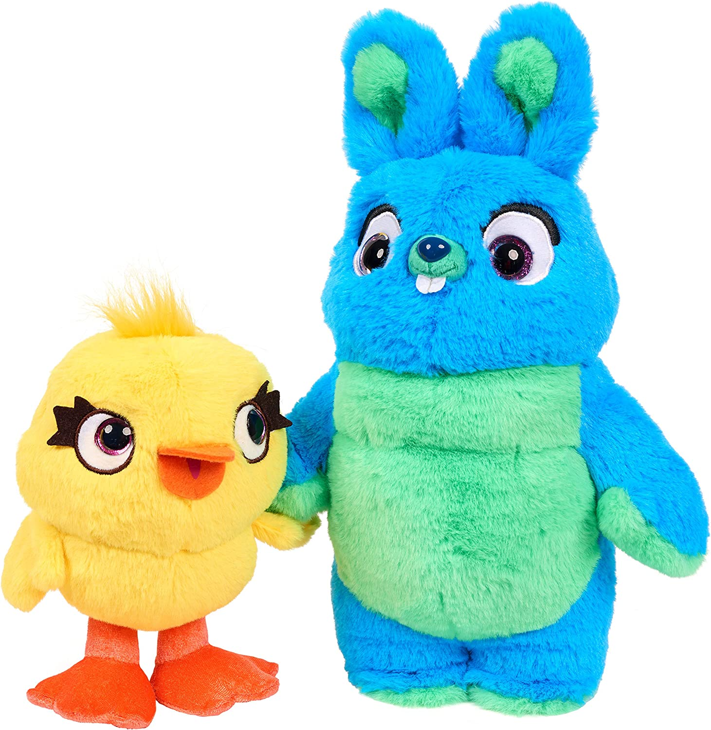 Disney-Pixar's Toy Story 4 Scented Friendship Plush Set - Ducky & Bunny