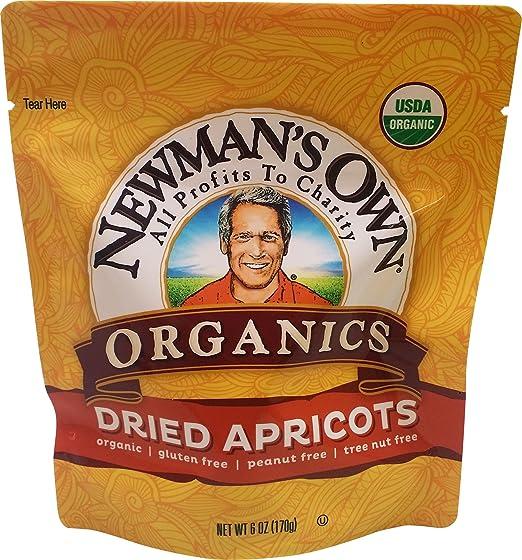 Newman's Own 6-Ounce Organics Mediterrannean Dried Apricots
