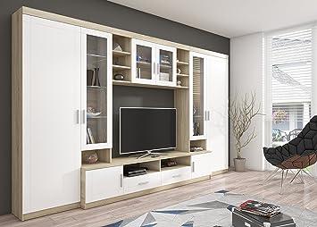 Home Direct Peter, Modernes Wohnzimmer, Wohnwände, Wohnschränke,  Schrankwand, Möbel (Front