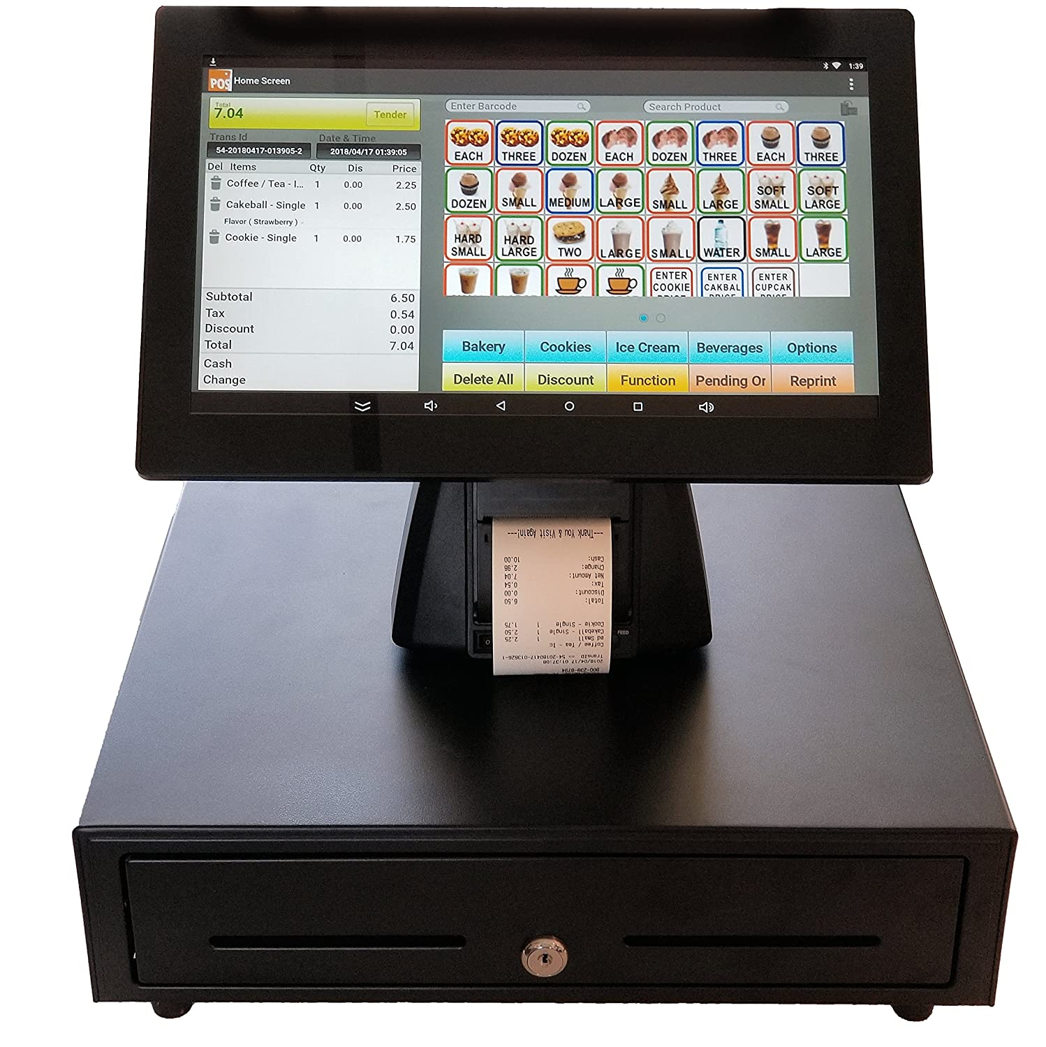 Restaurant Point Of Sale Pos System With 14 Screen This