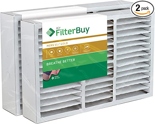 FC100A1029 and Carrier FILXXCAR0016 MERV 8, AFB Silver Replaces Honeywell 203719 FC35A1001 FilterBuy 16x25x5 Honeywell FC200E1029 Compatible Pleated AC Furnace Air Filters 4 Pack. FC100A1026