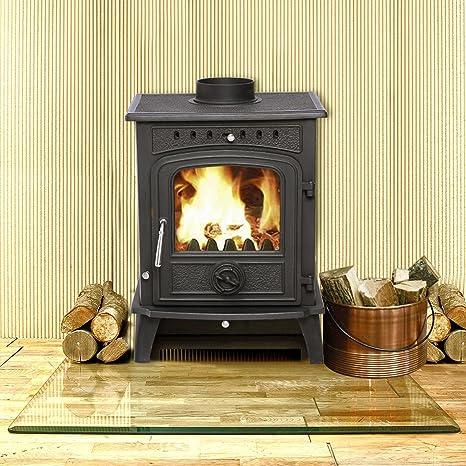 lincsfire nueva Greetwell - 12 kW hierro fundido quemador de ...