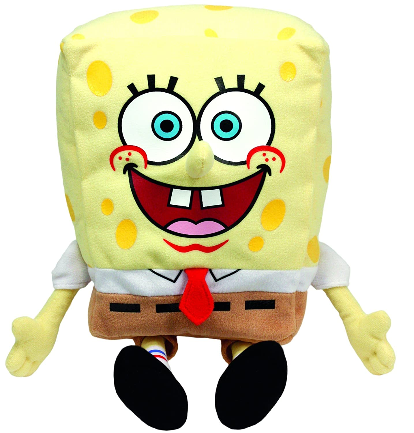 amazon com ty beanie buddy spongebob squarepants toys u0026 games