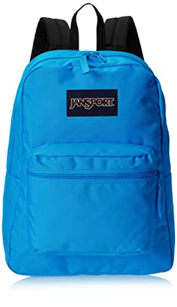 d4c9e2df40 JanSport Exposed Backpack - Neon Blue  Amazon.de  Bekleidung