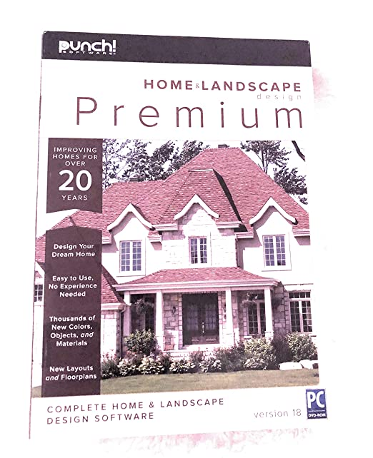 Amazon.com: Encore Punch! Home and Landscape Design Premium v18 on curtis home design, imsi home design, romantic home design, hgtv home design, renaissance home design, michael graves home design, wolf home design,