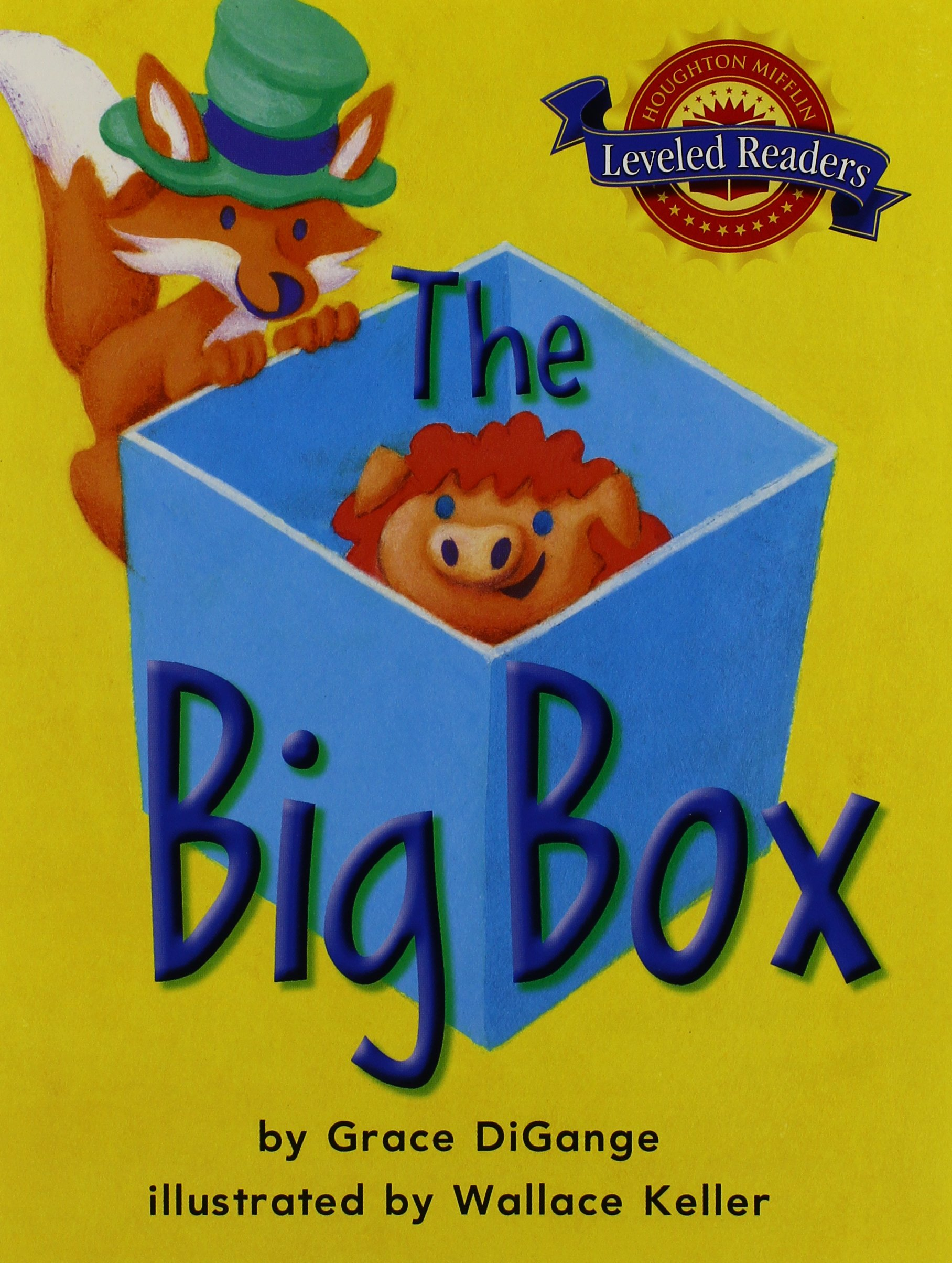 Read Online The Big Box, on Level Level 1.2.1: Houghton Mifflin Reading Leveled Readers ebook
