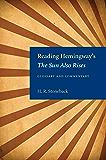 Reading Hemingway's The Sun Also Rises