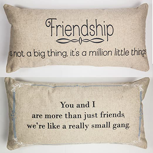 com evelyn hope collection friendship gift message throw