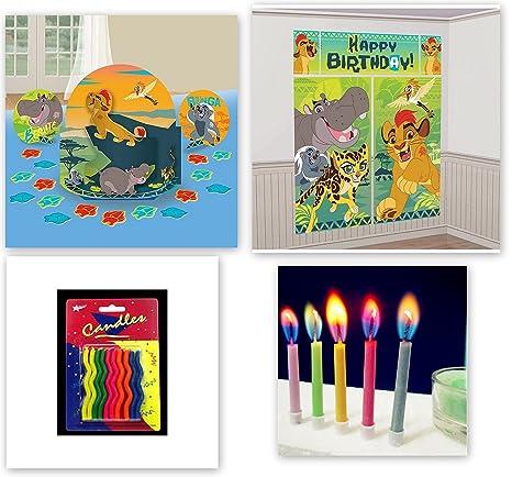 Amazon.com: Lion guard King Simba centro de mesa decoración ...
