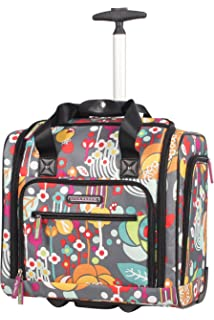 7f552ec498ca Lily Bloom Under the Seat Design Pattern Carry on Bag With Wheels