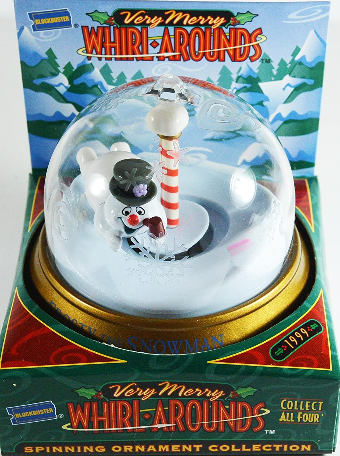 Blockbuster Very Merry Whirl-arounds Frosty the Snowman