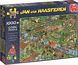Jumbo Jan Van Haasteren The Vegetable Garden Jigsaw Puzzle (1000 Piece)