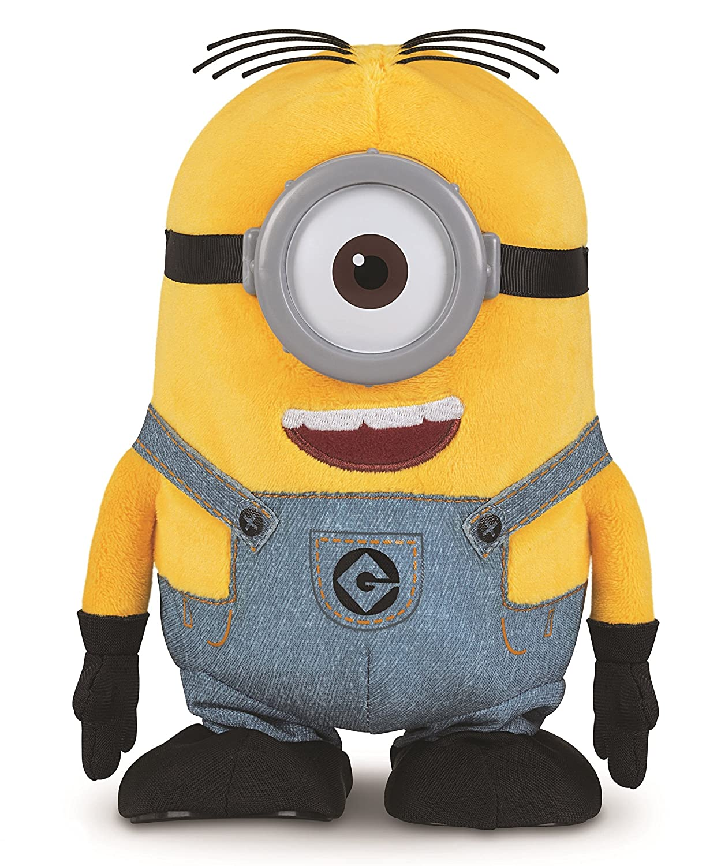 Despicable Me Walk Talk Minion Stuart Toy Figure